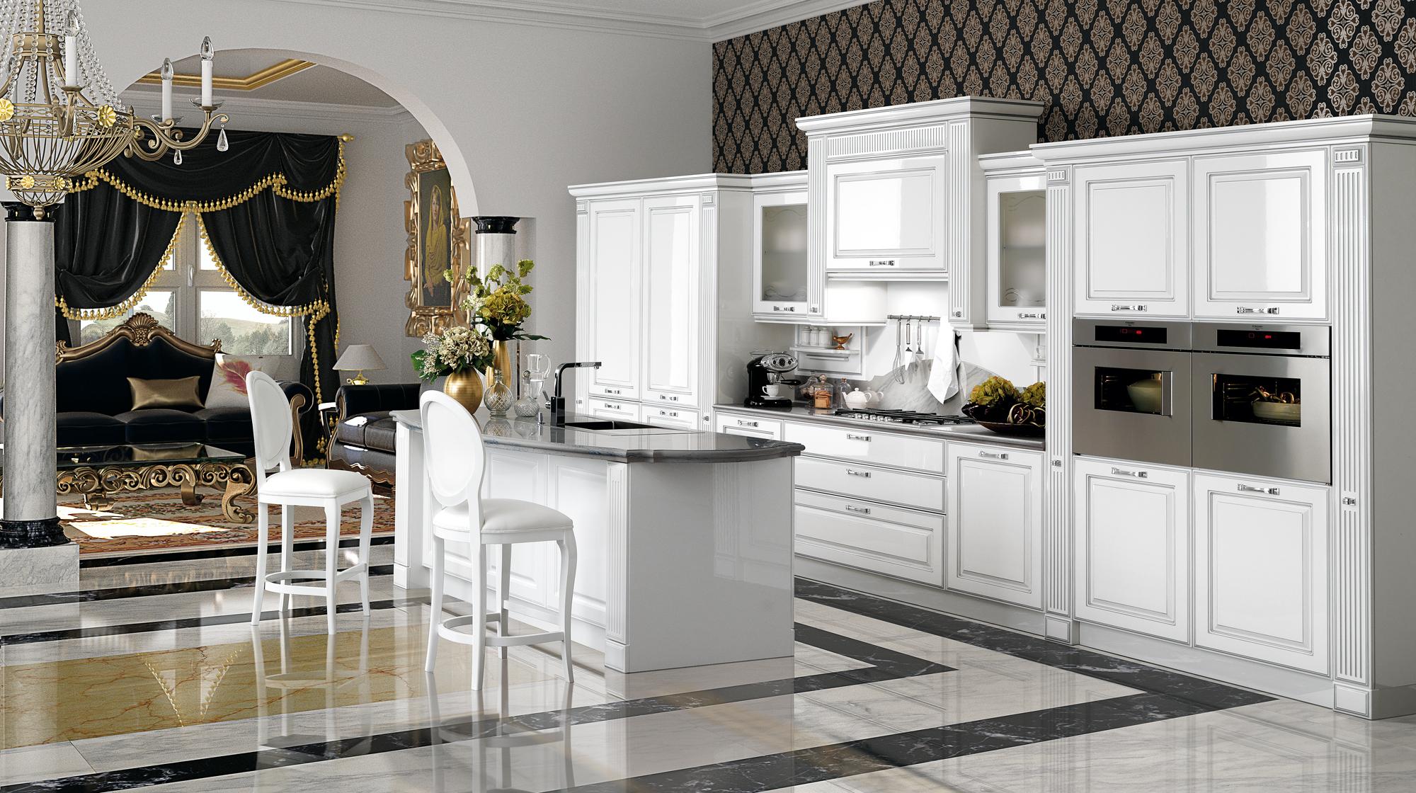 Kitchen Mirabeau E | Veneta Cucine