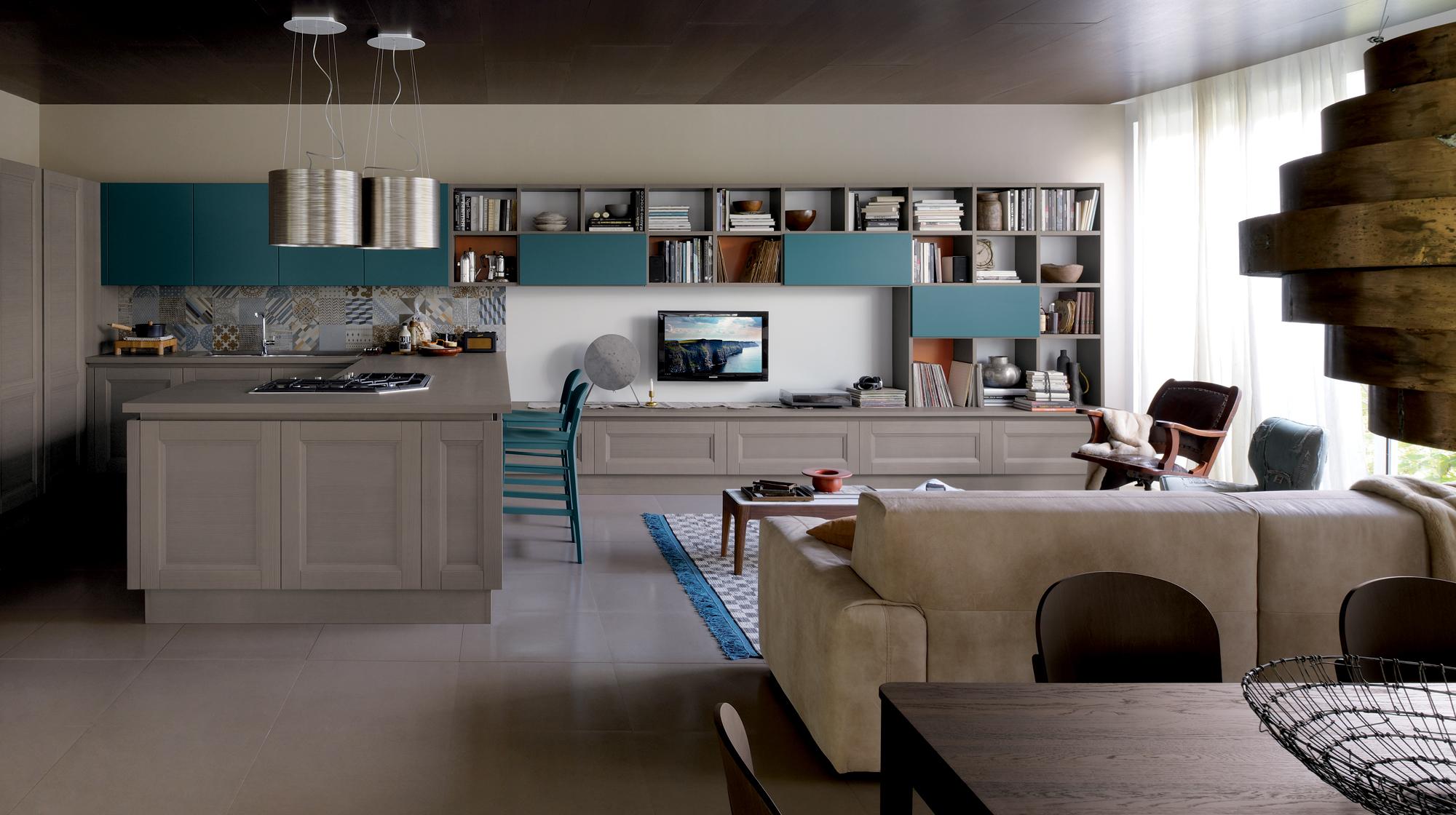 Cucine Vintage Moderne.Kitchen Vintage Shellsystem Tradizione Veneta Cucine