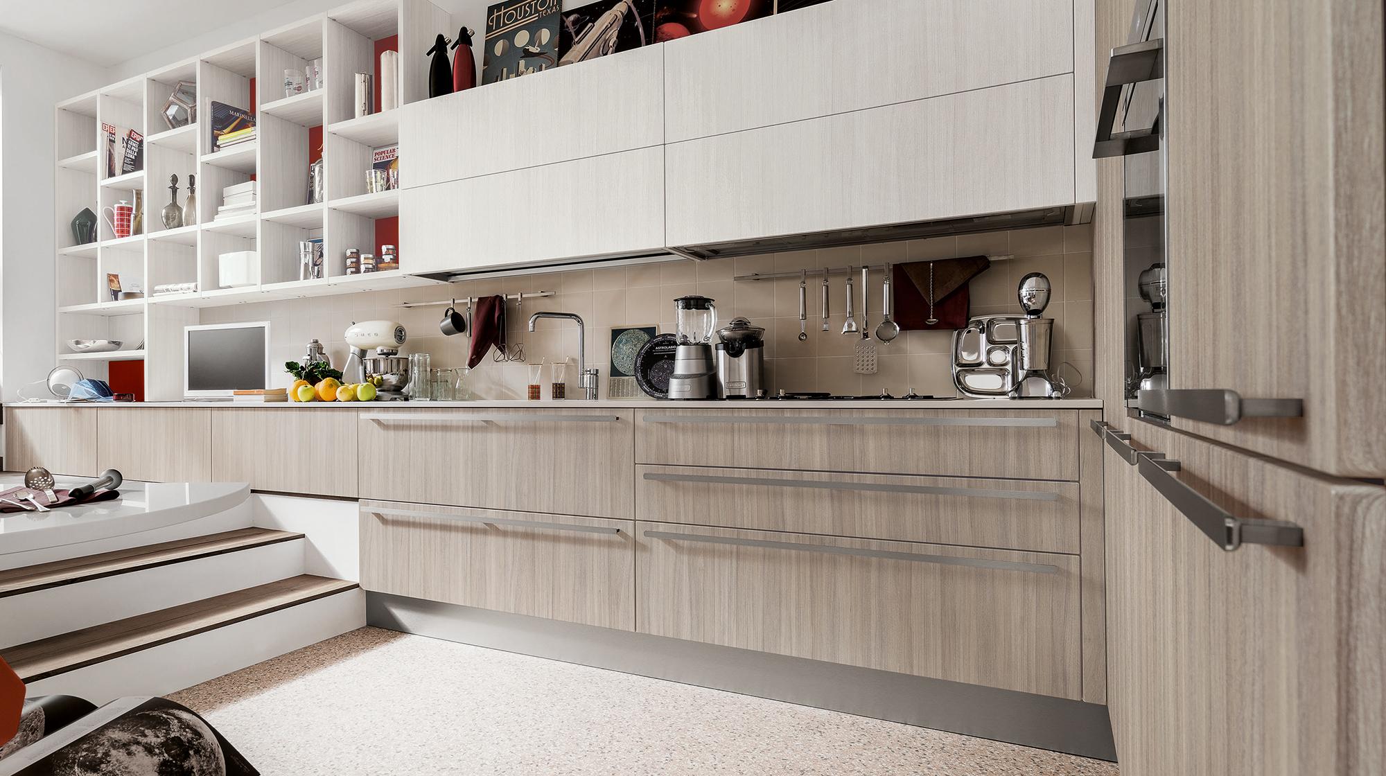 Kitchen Carrera Quick Design | Veneta Cucine