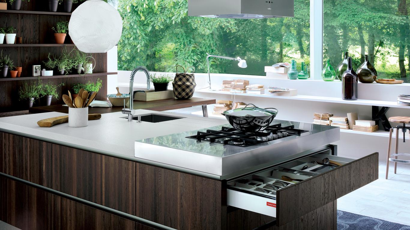 kitchen oyster essence | veneta cucine